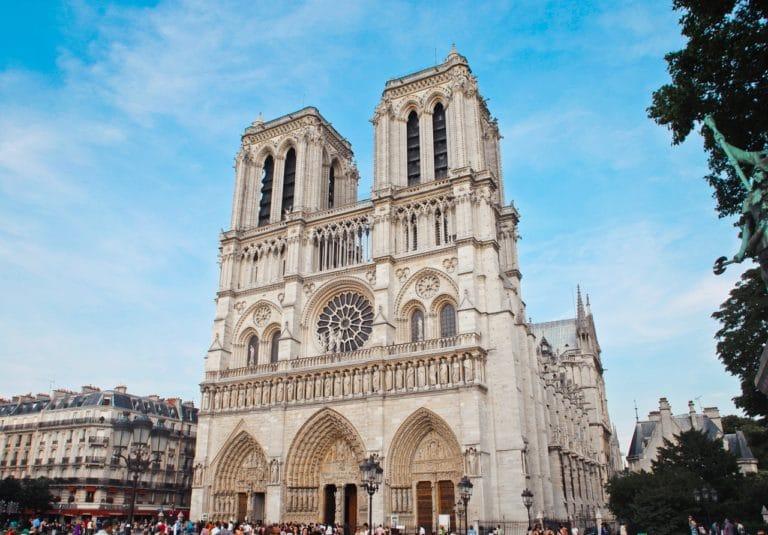 cathédrale blanche europe