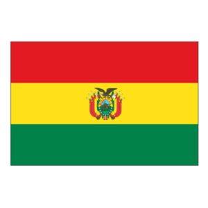 drapeau de la Bolivie