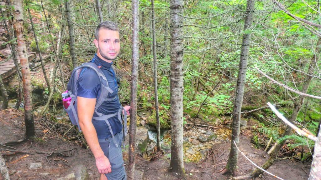 Anthony du blog de Partir Loin dans la forêt du mont Morios