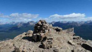 vue du sommet du mont Fairview