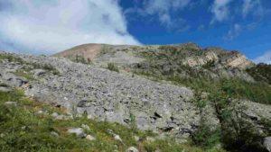 pic du sommet du mont fairview