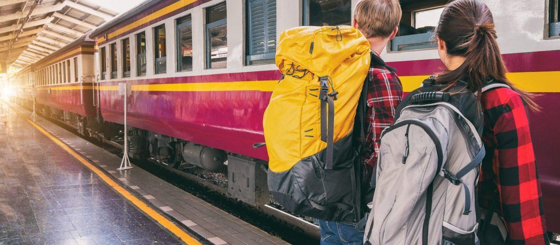 voyage train routard