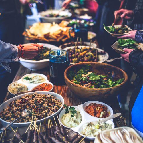 nourriture marché asie