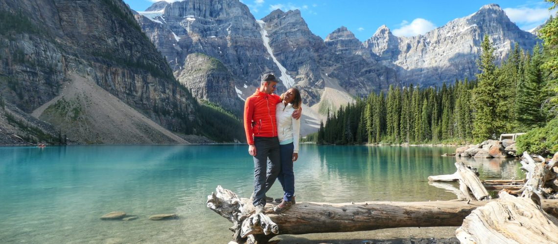 lake moraine - banff - canada - alberta